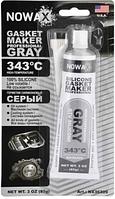 Серый силиконовый герметик прокладок Nowax Gasket Marker Gray