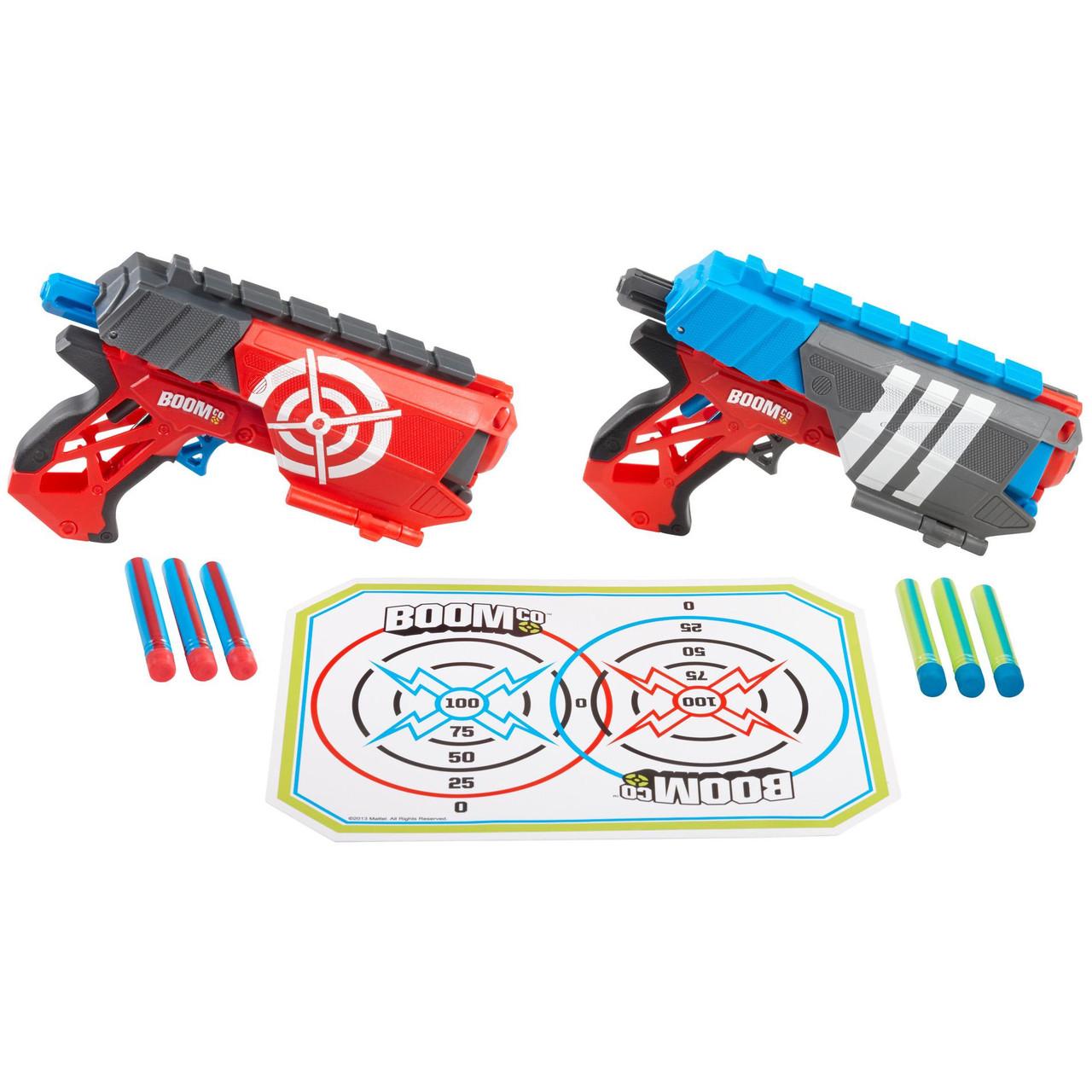 BOOMco Два бластера в комплекте Двойная защита Dual Defenders Blasters