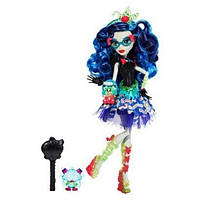 Monster High Кукла Гулия Йелпс из серии Сладкие Крики Sweet Screams - Ghoulia Yelps Doll by Mattel