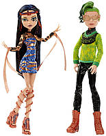 Monster High Boo York Набор кукол (Дьюс Горгон и Клео де Нил) Boo York Comet-Crossed Couple Cleo de Nile and Deuce Gorgon Doll, 2-Pack