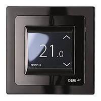 Сенсорный программируемый терморегулятор DEVIreg Touch Black