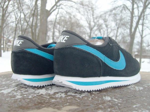 super popular 42a5a e0291 Кроссовки мужские Nike Cortez черные (размеры 42-46)