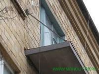 Укрепление балконных плит