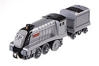 Паровозик Спенсер с вагончиком из серии Take-n-Play Pull ´N Zoom - Spencer