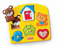 Fisher-Price Развивающая игрушка пазл Brilliant Basics Activity Puzzle