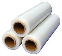 Стретч-пленка упаковочная (500мм/4,5кг) плотность 20мкм, белая, прозрачная