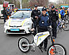 Поліція пересідає на електровелосипеди вартістю в 50 000 гривень