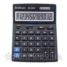 Калькулятор Brilliant BS-0222 12разр.