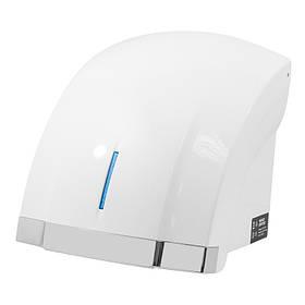 Автоматическая сушилка для рук с подсветкой led,1800W , белая/хром