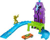 Hot Wheels дом с приведениями Deadman's Curve Track Set, фото 1