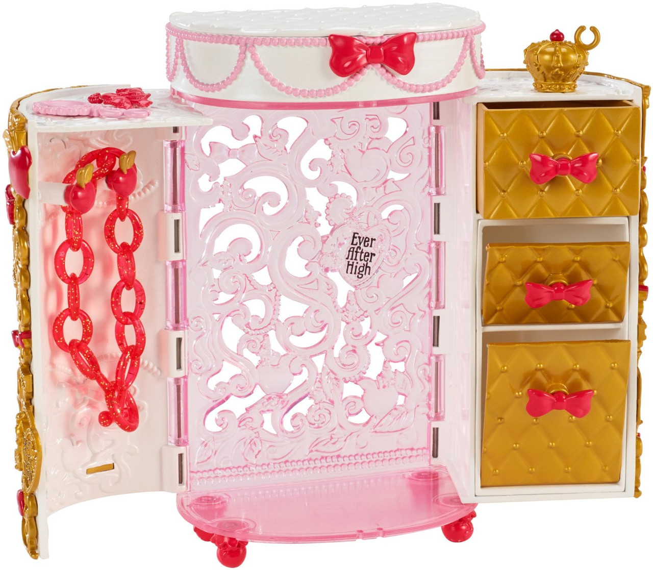 Ever After High набор шкатулка Эпл Apple Whites Jewelry Box