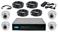 Комплект видеонаблюдения Turbo HD  PV-4401TVI + PV-712TVI  FULL