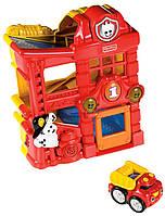 Fisher-Price пожарная станция Lil' Zoomers Racin' Ramps Firehouse