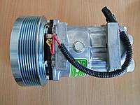 Компрессор для кондиционера CL7H15 12V (Direct mount)  шкив поликлиновый 8PV 152мм