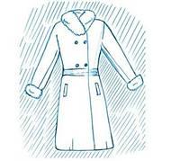 Покраска пальто и полупальто