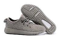 Кроссовки мужские Adidas Yeezy Boost 350 Moon Grey беговые
