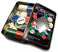 Игра покер (метал. коробка)