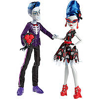 Monster High Сломан Слоу Мо и Гулия Йелпс Любовь не умерла Loves Not Dead Ghoulia Yelps Sloman Slo Mo Mortavitch Dolls