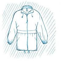 Покраска куртки ветровки