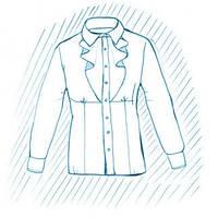 Покраска блузки