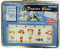 Fisher-Price классическое домино фишер прайс Classic Domino Game 28-Piece
