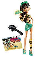 Monster High Клео Де Нил мрачный пляж Первый выпуск Gloom Beach Cleo De Nile Doll