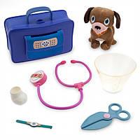 Doc McStuffins озвученный набор доктора со щенком Vet Doctor Bag