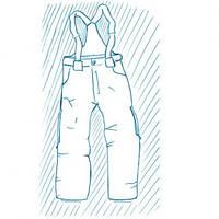 Покраска спортивных брюк