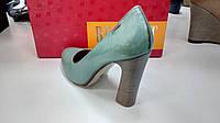Best-But туфли женские светло-зеленого цвета на каблуке