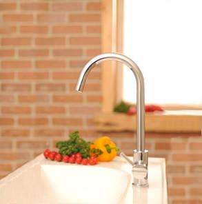 Ravak KM 016 00 Смеситель кухонный с боковым переключателем, фото 2