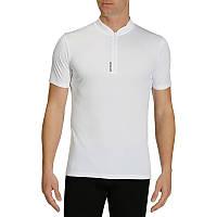 Велосипедная футболка мужская BTWIN белая