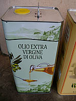 Оливковое масло Olio Extra Vergine di Oliva, 5 л, фото 1