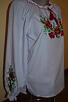 Блуза вышитая  нарядная для девочки р.152-170, фото 2