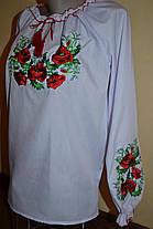 Блуза вышитая  нарядная для девочки р.152-170, фото 3