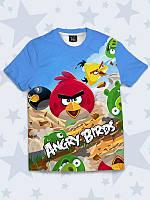 Футболка 3D Angry birds