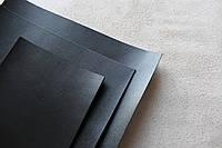 Прямоугольные куски натуральной кожи черного цвета под заказ СКУ 9001.1001