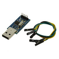 Адаптер USB - RS232 TTL Converter Module PL2303 + 4 кабеля