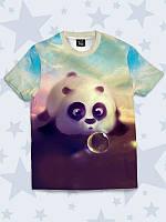 Футболка 3D Чарівна панда, фото 1
