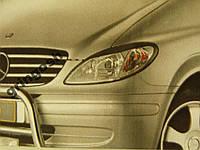 Реснички на фары Mercedes Vito W639 2004-2010 тип 1