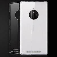 Чехол силиконовый Ультратонкий Epik для Nokia Microsoft Lumia 830 Прозрачный