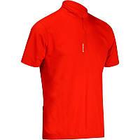 Велосипедная футболка мужская BTWIN красная