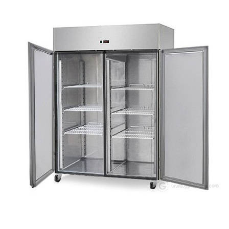 Шкаф морозильный 2-х дверный TS1200N GGM gastro (Германия), фото 2
