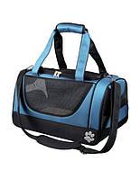 TRIXIE сумка переноска jacob carrier 27 x 23 x 42 см голубо-черная