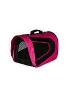 TRIXIE сумка переноска Alina нейлон 22 x 23 x 35см розово-черный