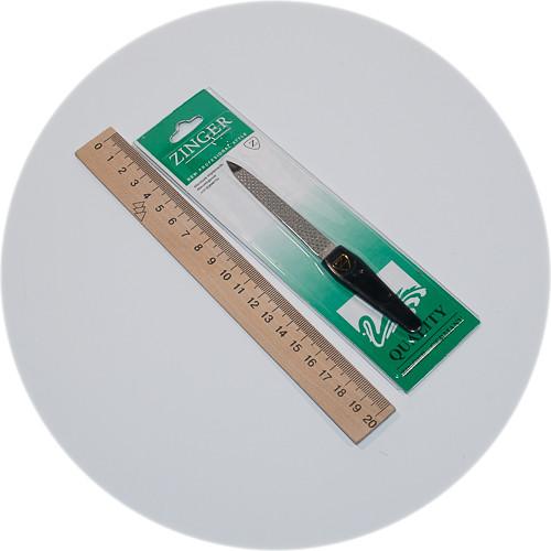пилка для ногтей с лазерной перфорацией Zinger от магазина Fred Shop