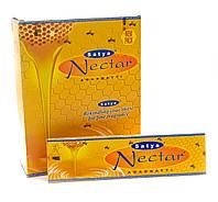 """Тибетские Благовония """"Nectar"""" Satya 12/Уп Пыльцовые"""