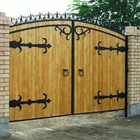 Деревянные ворота