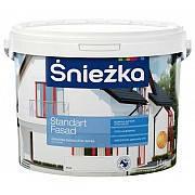 Краска акриловая фасадная Снежка Фасад Стандарт(14кг)