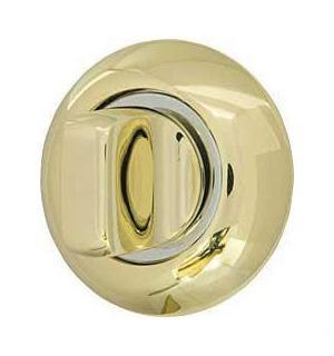 Ручка поворотная Armadillo WC-BOLT BK6-1GP/CP-2