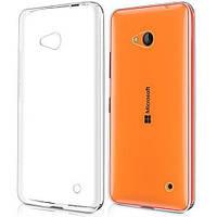 Чехол силиконовый Ультратонкий Epik для Nokia Microsoft Lumia 640 Прозрачный